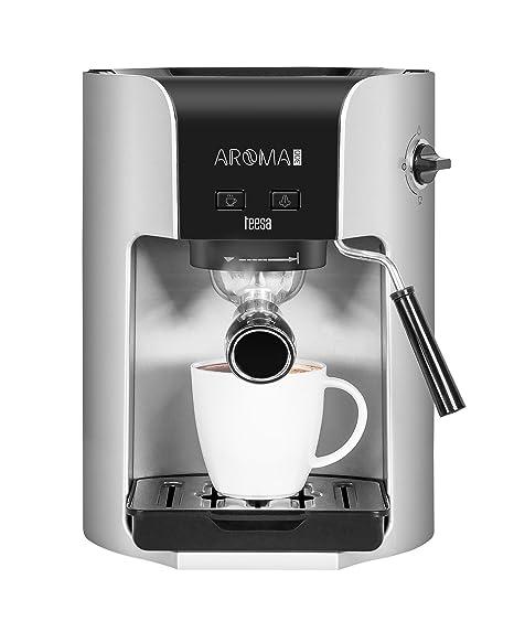 Teesa Aroma 300 – Máquina de café manual, 1.5 l, 1400 W, Plata