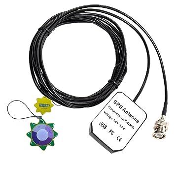HQRP antena externa GPS para Garmin GPS II / II+ / III / III Pilot / III+ / V / StreetPilot III Deluxe + HQRP medidor del sol: Amazon.es: Electrónica