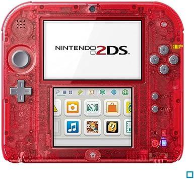 Nintendo 2DS - videoconsolas portátiles (Nintendo 2DS, Rojo, D-pad, Hogar, Start, LCD, 7,67 cm (3.02