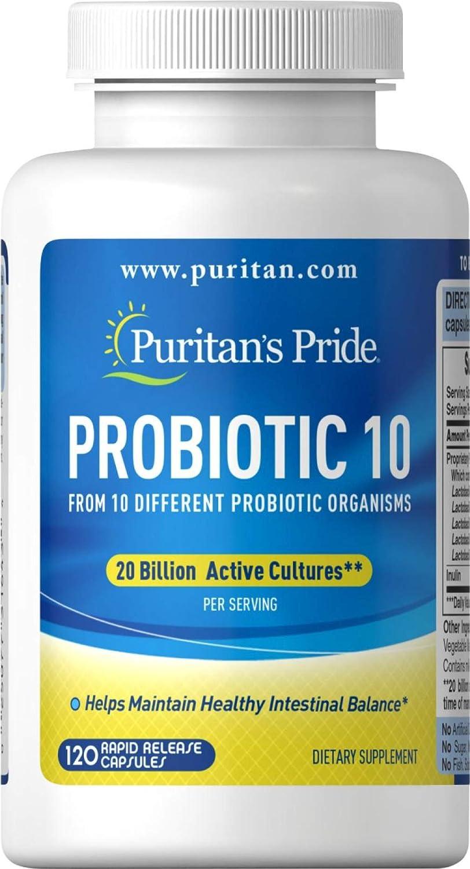 Probiótico 20 Bilhões 120 Cps - Puritans