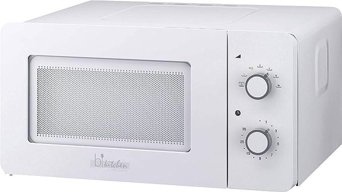 7 opinioni per bkitchen mini 150 bianco microonde 600W, 15l, giradischiera in vetro (Ø 25,5