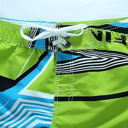 Bikini bandeau Pantalones de playa para hombres, YanHoo® Pantalones cortos para nadar Swim Trunks Quick Dry Surf en la playa Running Swimming Watershort 1PC ...