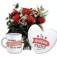 Florclick - Pack Love- Ramo de flores naturales en 24 horas y envío GRATIS