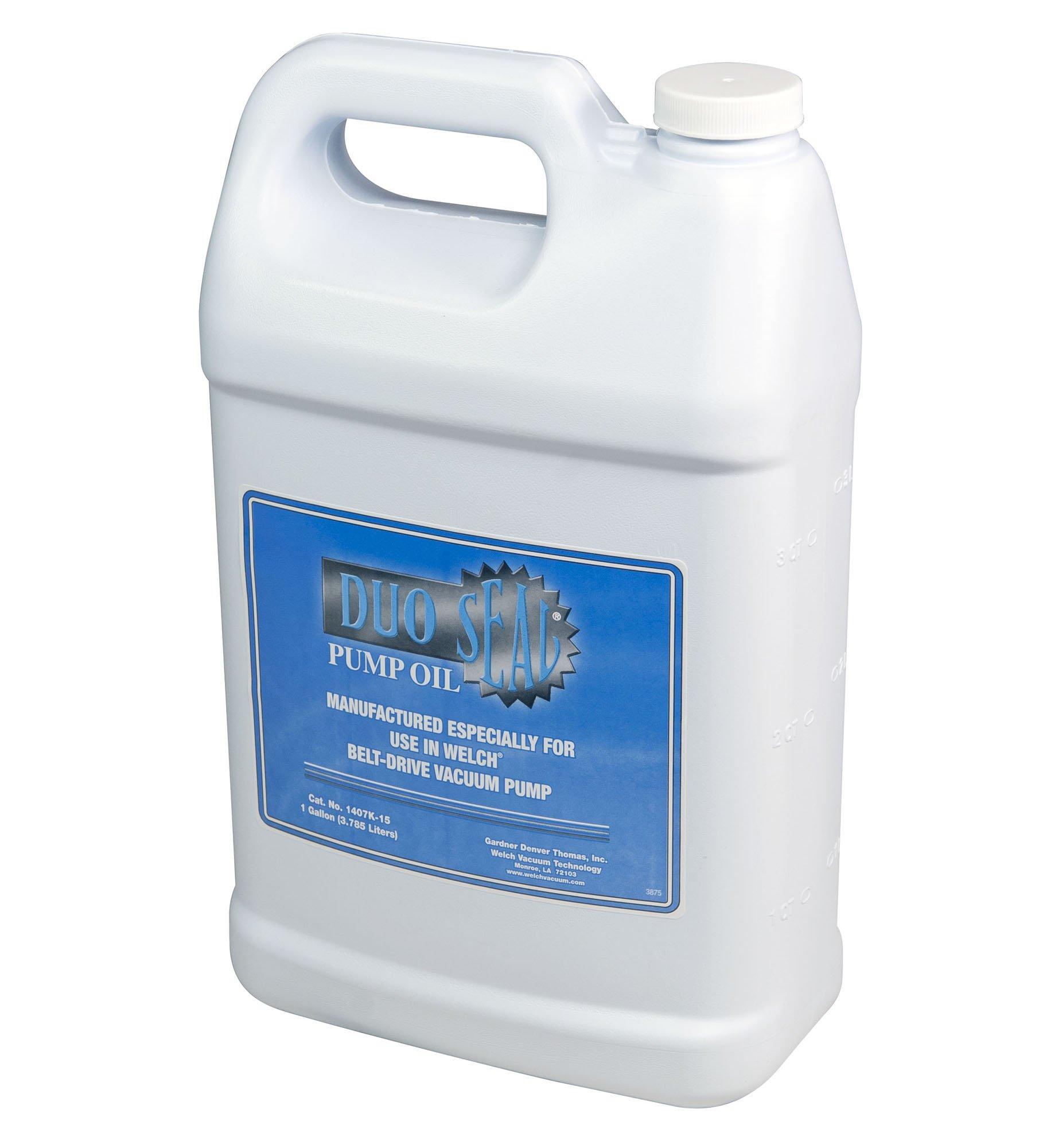 Welch Vacuum 1407K-15 Duo Seal Pump Oil, 1 gal