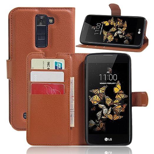 9 opinioni per LG K8 Wallet Cover, SMTR Custodia In Pelle Con Wallet Case Cover Per LG K8-