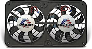 Flex-a-lite 420 Lo-Profile S-Blade Dual Electric Puller Fan