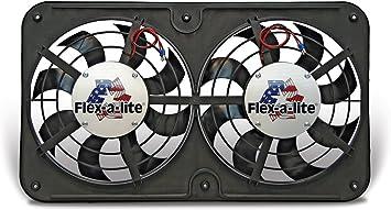 Flex-a-lite 123 Lo-Profile S-Blade Electric Puller Fan