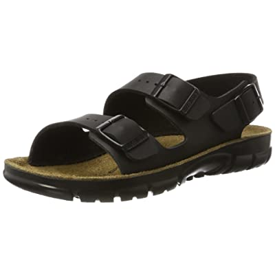 Birkenstock Kano Black Synthetic Sandals Narrow Width | Sandals