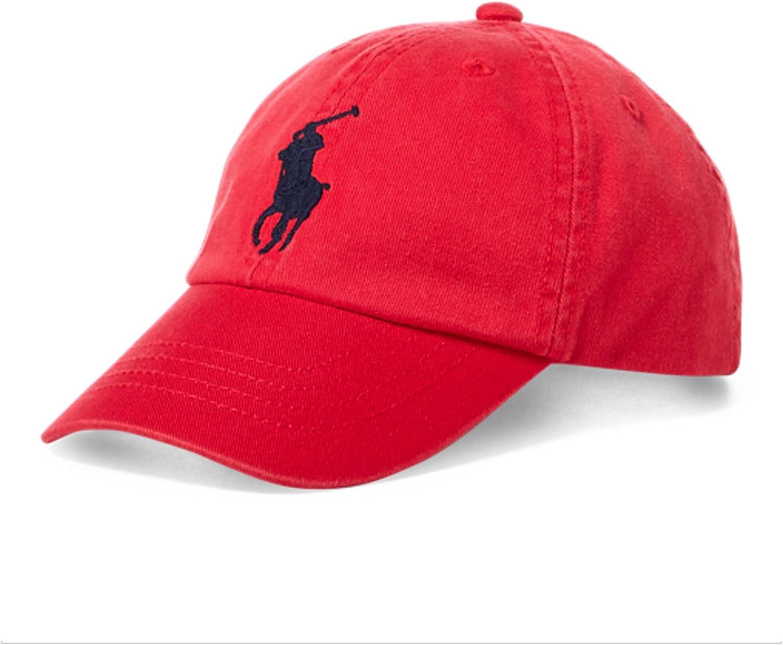 4-7 RALPH LAUREN Polo Boys Big Pony Chino Sports Cap