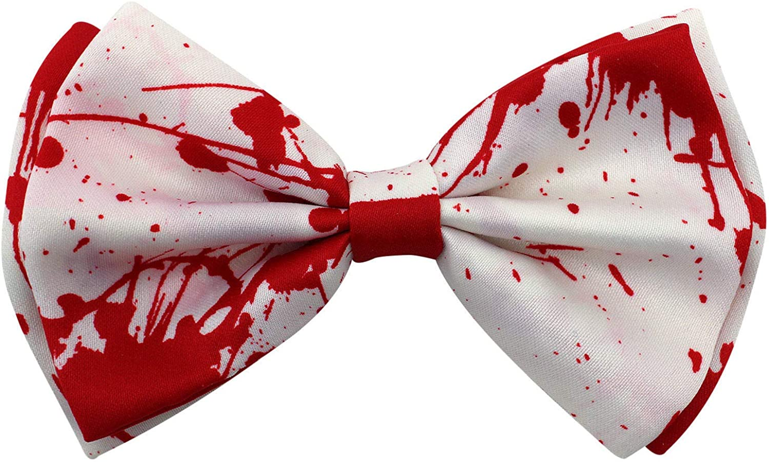 Halloween Bow Tie Stripes Pumpkin Blood Costume Party Pre Tied Sugar Skulls New