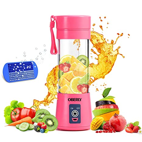 Amazon.com: Batidora portátil OBERLY Smoothie batidora USB ...