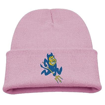 1864e1b2a01bc Babala Duke University Blue Devils Boys And Girls Knitted Beanie Cap Hat  Skull Cap Hat Pink