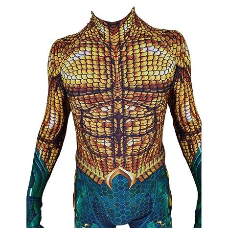 Aquaman NiñO Adulto Ropa Cosplay Vestido Halloween Navidad ...