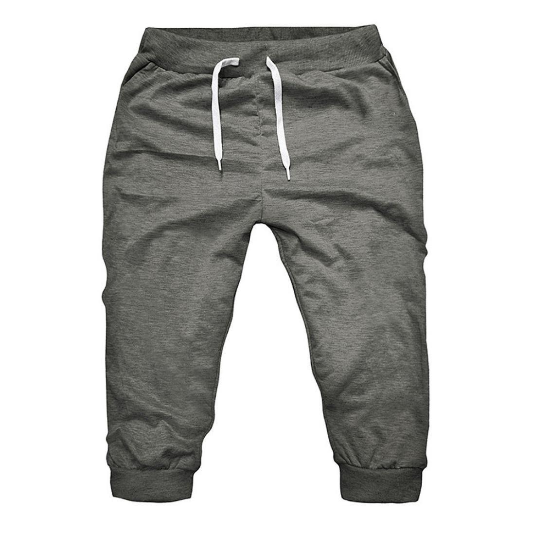 Hombres Pantalones, ❤️ Manadlian Pantalones harén para hombre Casual Persona que practica jogging Baile Sportwear Baggy Pantalones Slacks Pantalones deportivos Manadlian_Hombres Pantalones