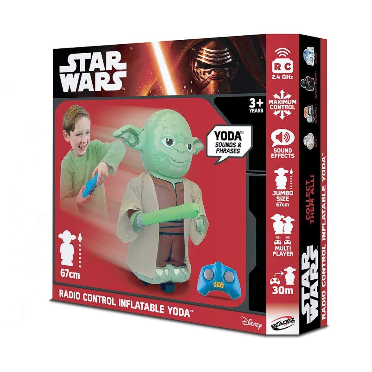 Star Wars- Robot Hinchable R2D2 con Sonido (Bladez Toyz BTSW002)