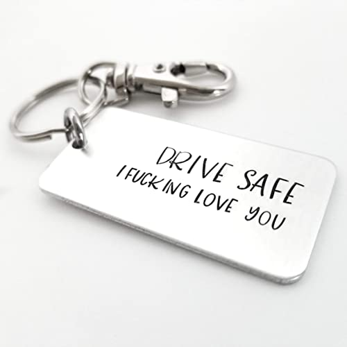 Amazon Drive Safe New Driver Gift Keychain Teen Be Sweet 16 Birthday Keyring License Handmade