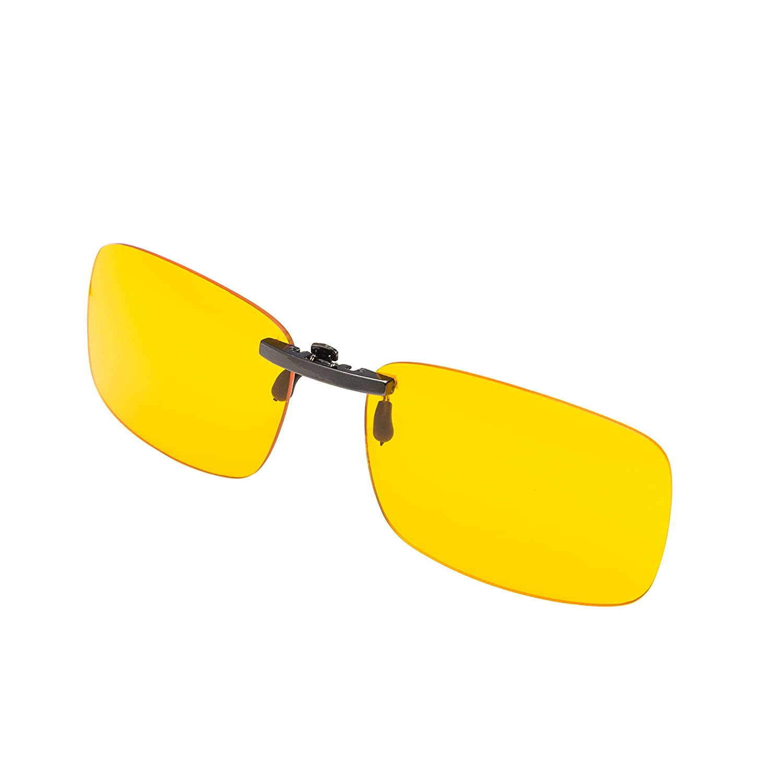 a2d239aa957 Amazon.com  PROSPEK - Premium Computer Glasses - Elite Clip On - Glasses  Clip - Blue Light and Glare Blocking  Home Improvement