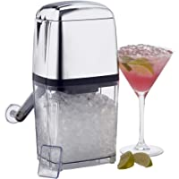 Cooks Professional Manual Ice Crusher Machine with Scoop and Tray
