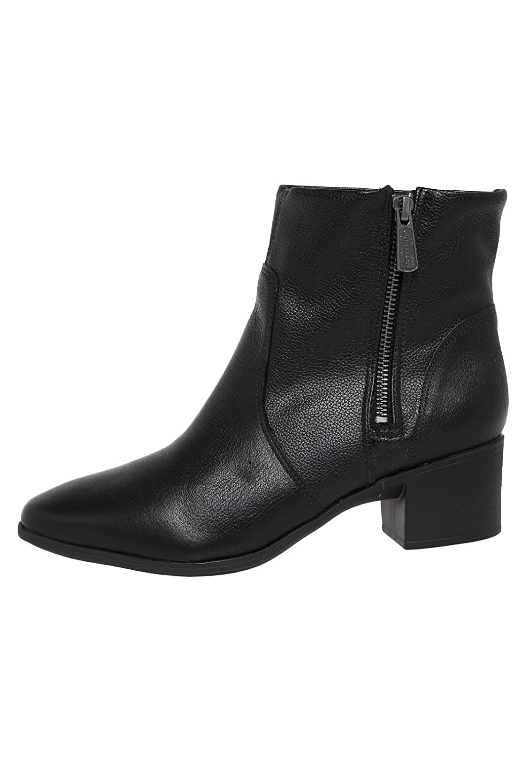 Bottero Womens Over the Ankle Leather Boots