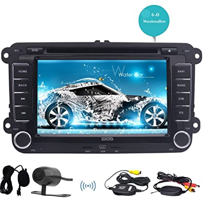 Double 2 din VW Car DVD Player Eincar 7 inch Android 6.0 Car Stereo Radio GPS