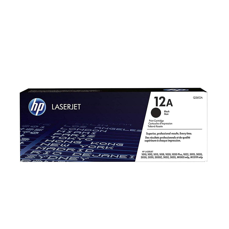 HP 12A   Q2612A   Toner Cartridge   Black
