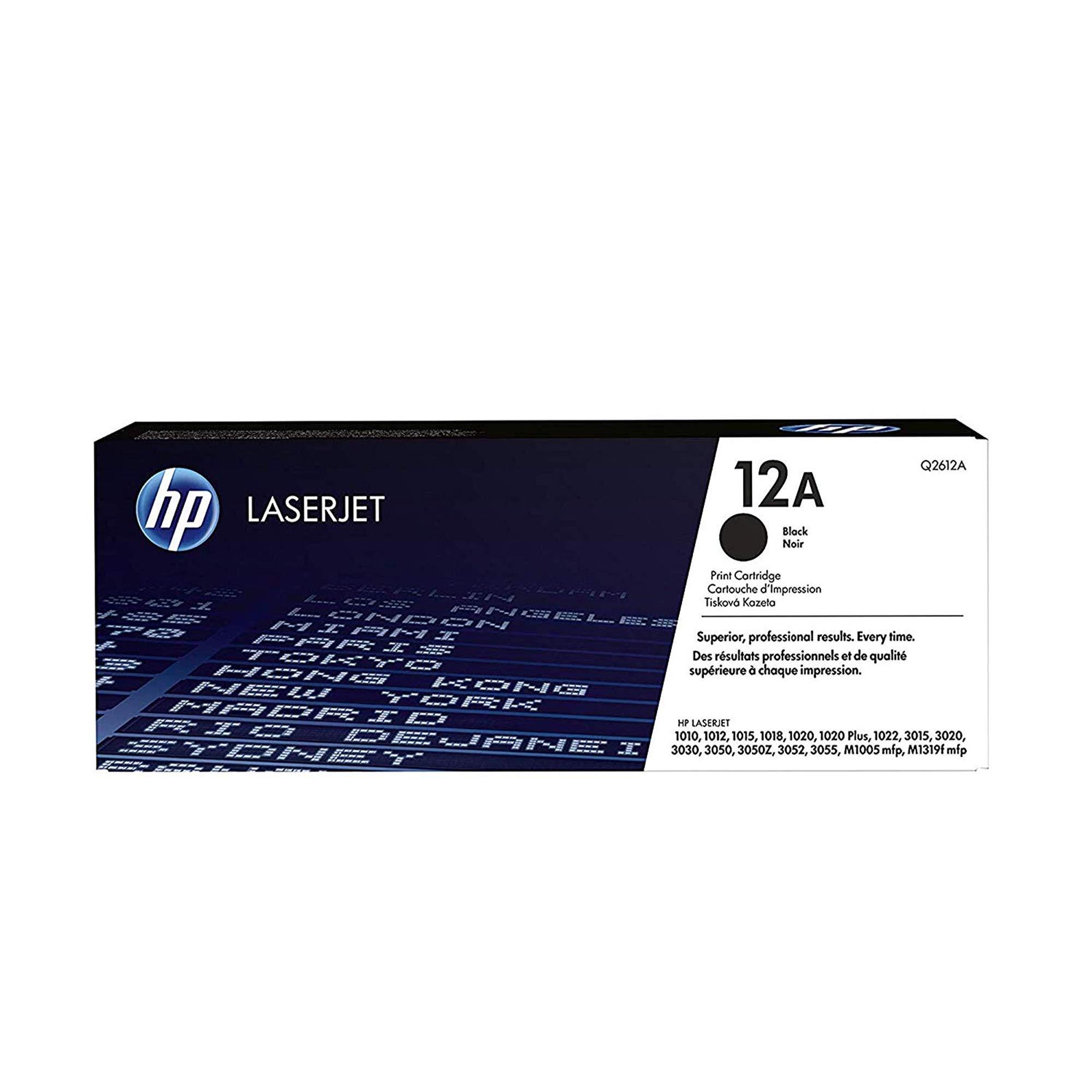 Toner Original HP 12A Q2612A Black