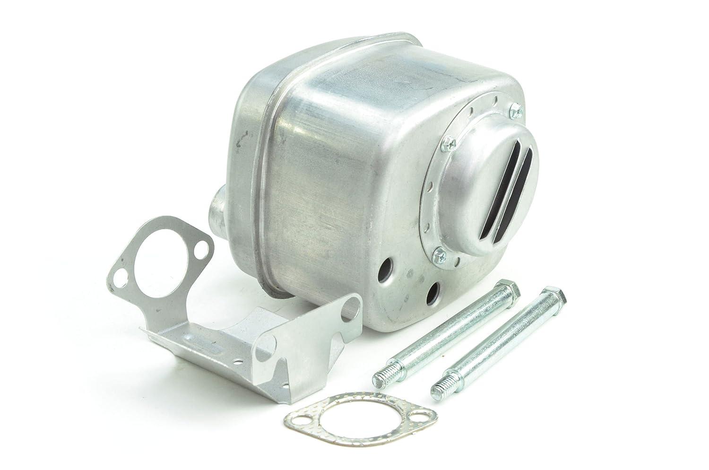 Oregon 35-022 Muffler Replacement for Briggs & Stratton 394180, 491413, 394170, 691874