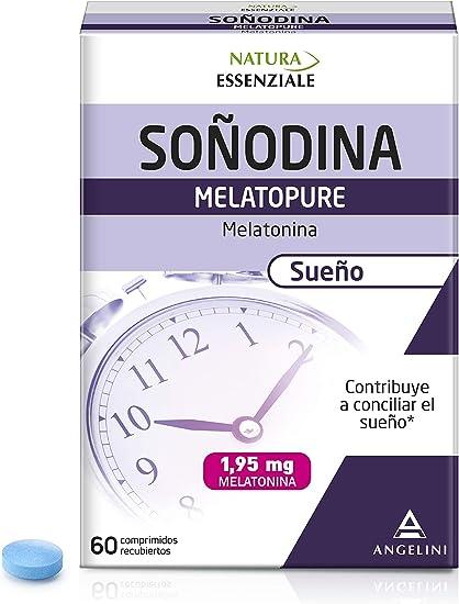Natura Essenziale Melatonina - 60 Comprimidos: Amazon.es: Salud y ...