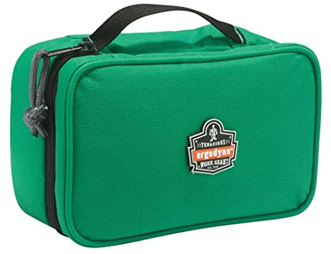 a9dc0db1a417 Ergodyne Arsenal 5876 Clamshell Organizer Zippered Pouches, Small, Green