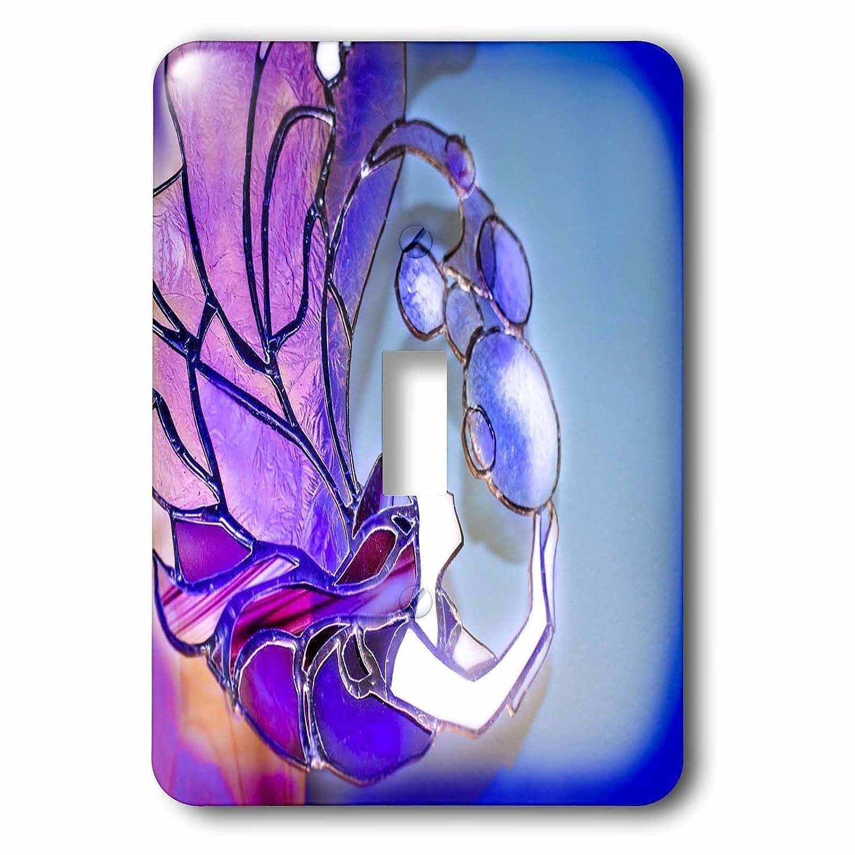 【国内在庫】 3drose Mermaids –_ パープル、バイオレットステンドグラスマーメイドのイメージ 1 – 照明スイッチカバー – シングルトグルスイッチ( Mermaids LSP_ 256175_ 1 ) B074XSF5VM, free design(フリーデザイン):a776a30f --- a0267596.xsph.ru