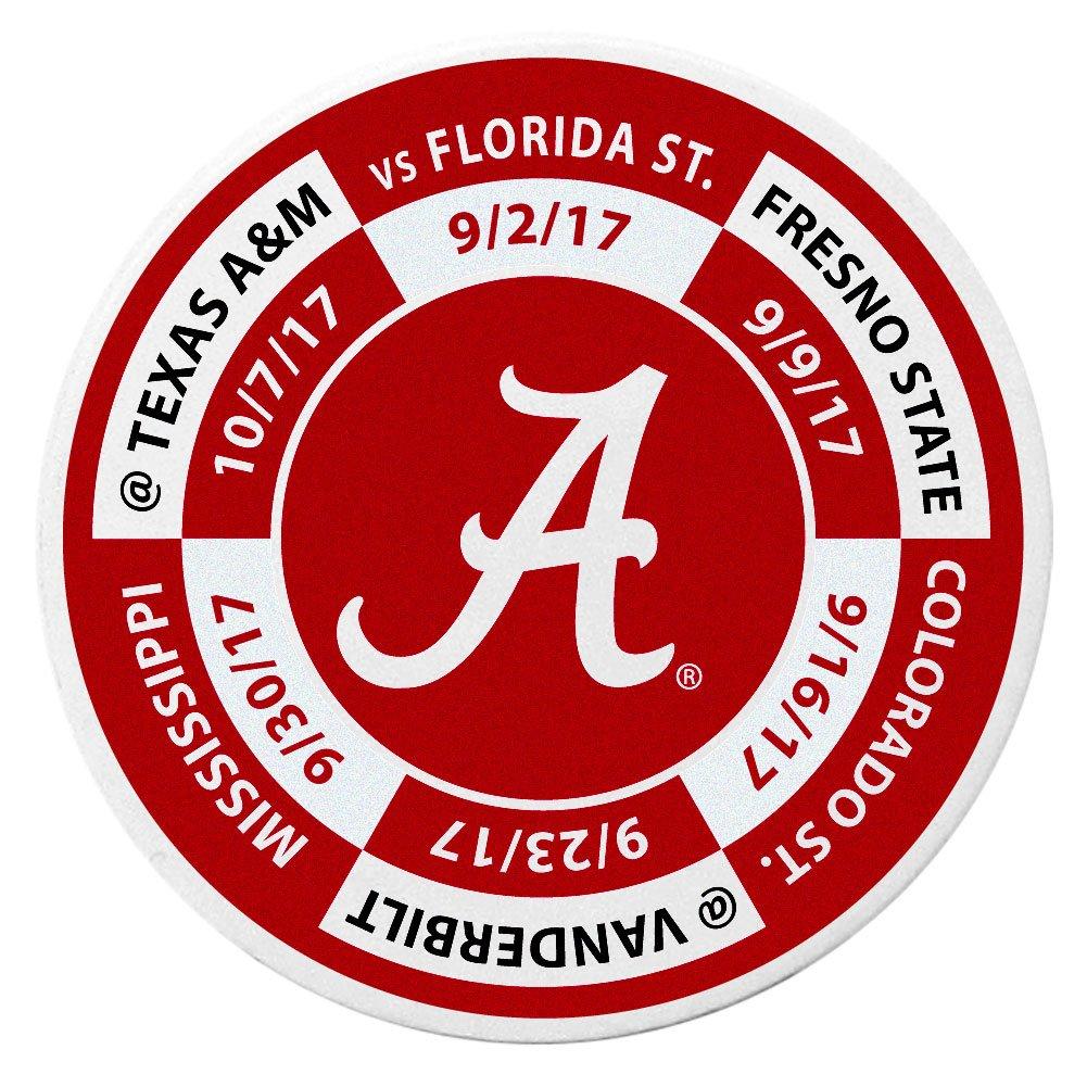 Siskiyou NCAA Alabama Crimson Tide Schedule Golf Ball Marker Coin