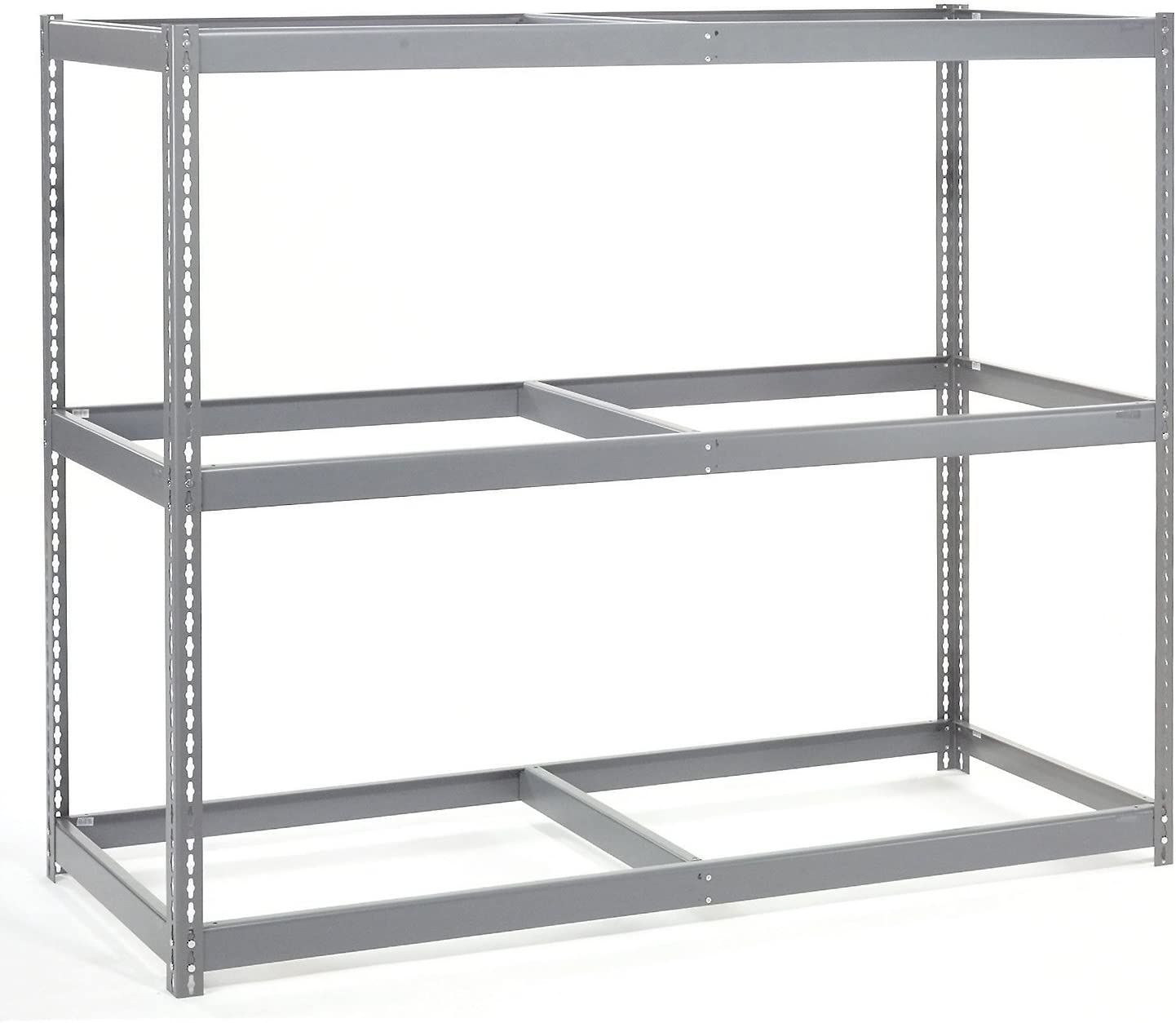 72W x 48D x 60H 900 Lb Capacity Per Level Wide Span Rack With 3 Shelves No Deck