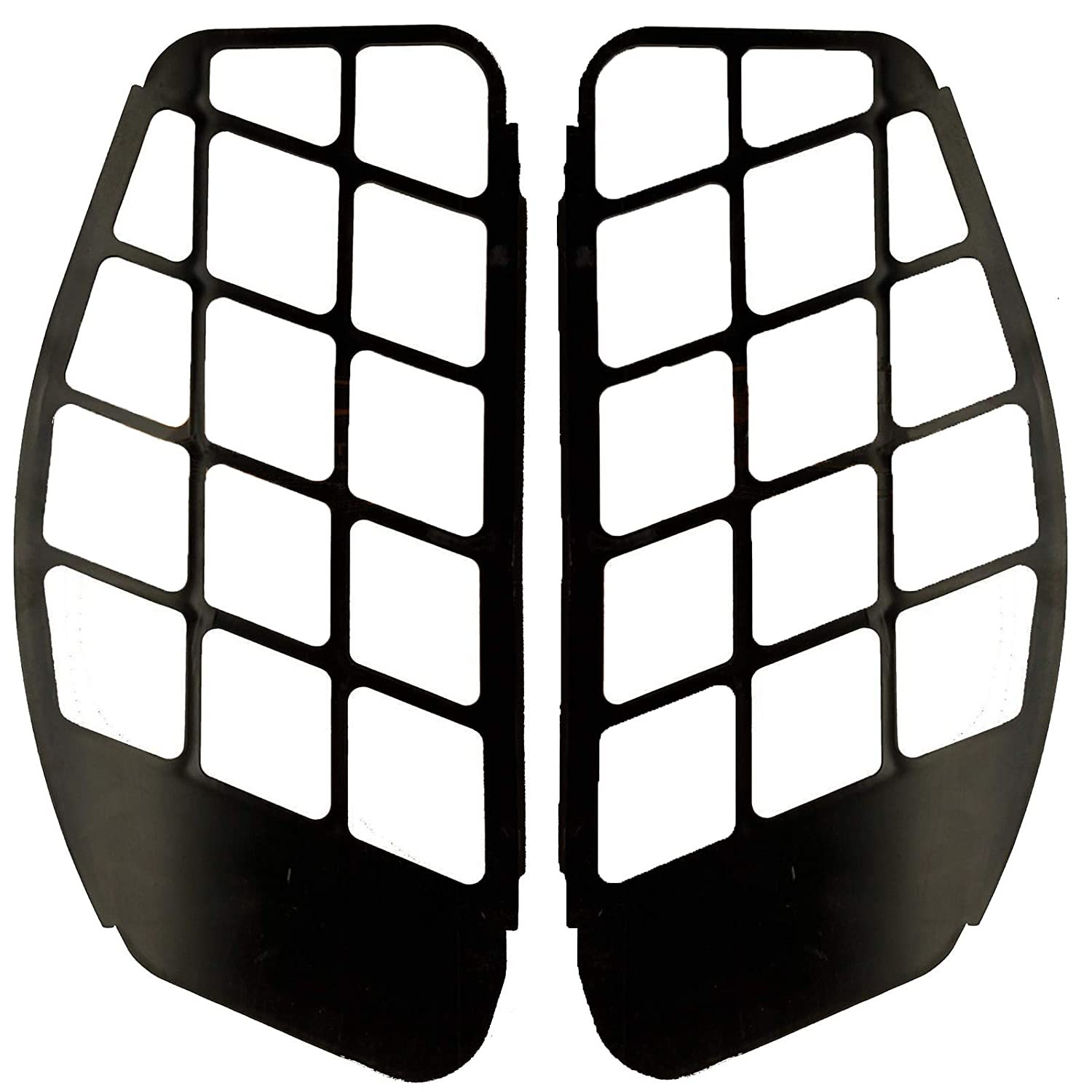 Friday Part Side Grill Air Discharge Louver Plastic 6716571 & 6716573 for Bobcat Skid Steer Loader 653 751 753 763 773 7753 853 863 864 S130 S150 S160 S175 S185 S205 T140 T180 T190