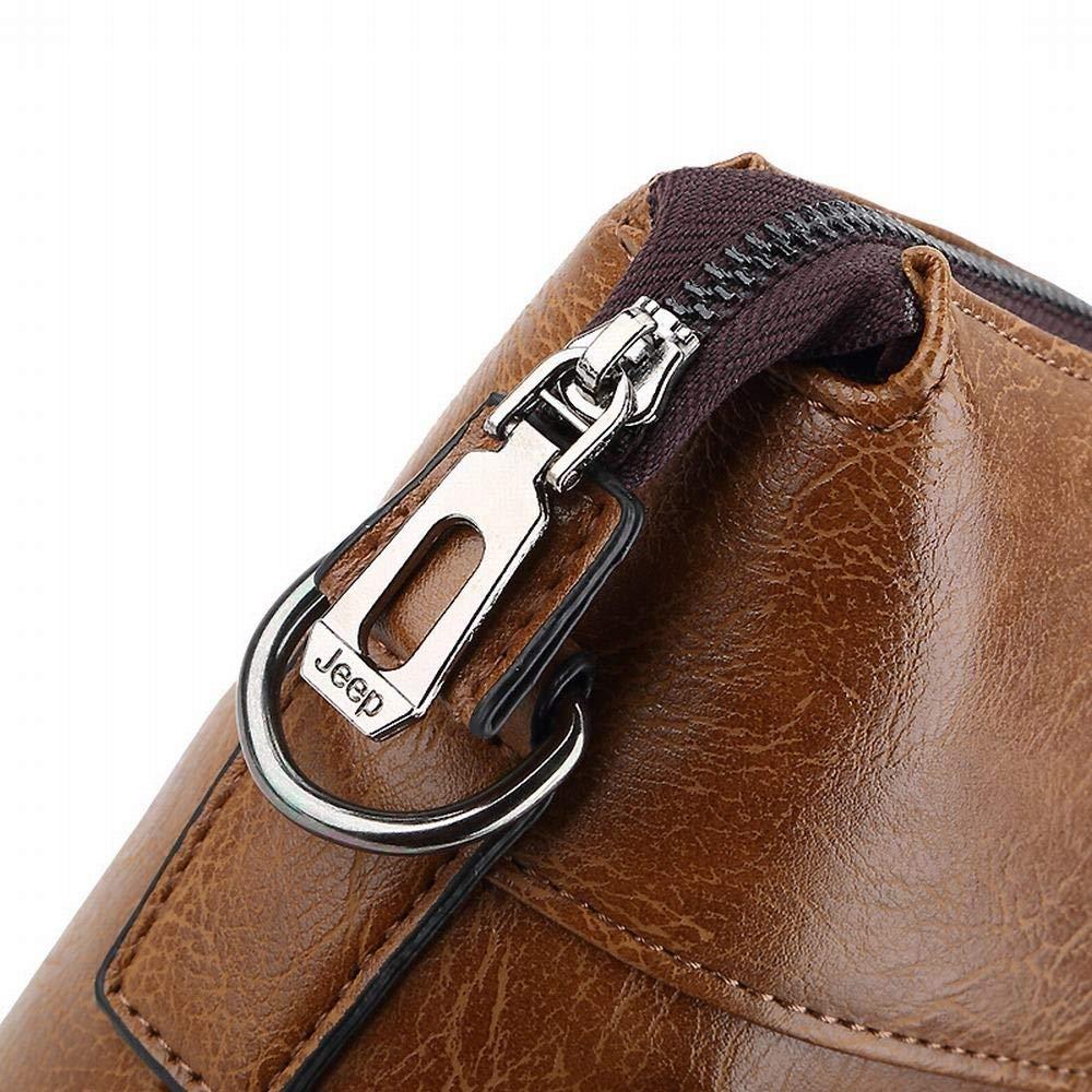 RICHARD BALDWIN Mens Bag Leather Business Briefcase Travel Bag Cross Section Handbag Shoulder Messenger Bag Color