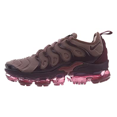 b2c9b9e87ea Image Unavailable. Image not available for. Color  Nike Womens Air Vapormax  Plus Smokey Mauve Bordeaux-Vintage Wine-Black ...