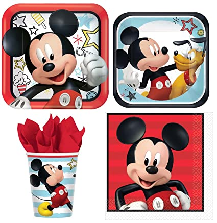 Amazon.com: Disney Mickey Mouse Value Pack Fiesta de ...