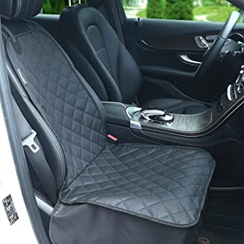 SoulSpa Pet Front Seat Cover For Cars Trucks And SUVS Waterproof Nonslip Rubber Backing Durable