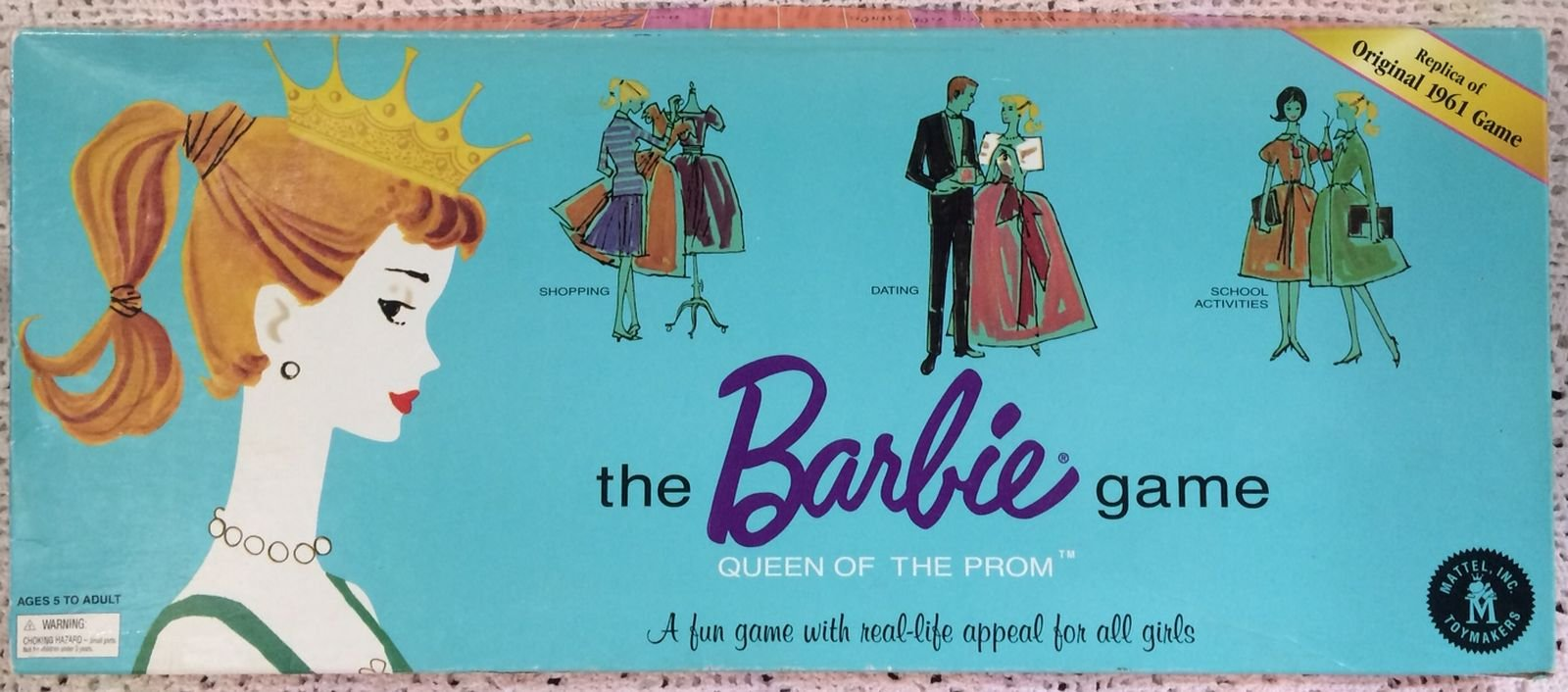 The Barbie Game: Queen of the Prom