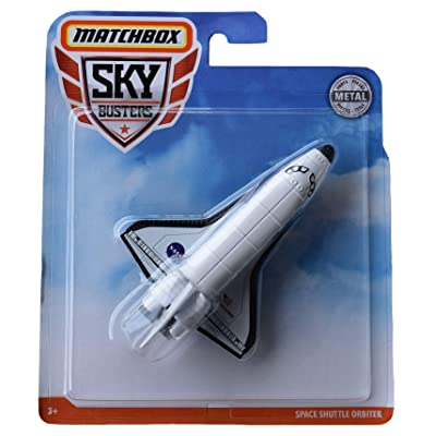 Matchbox Sky Busters Space Shuttle Orbiter, White: Toys & Games