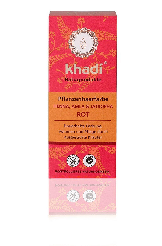 Khadi - Tinte Vegetal Henna, Amla & Jatropha 2486