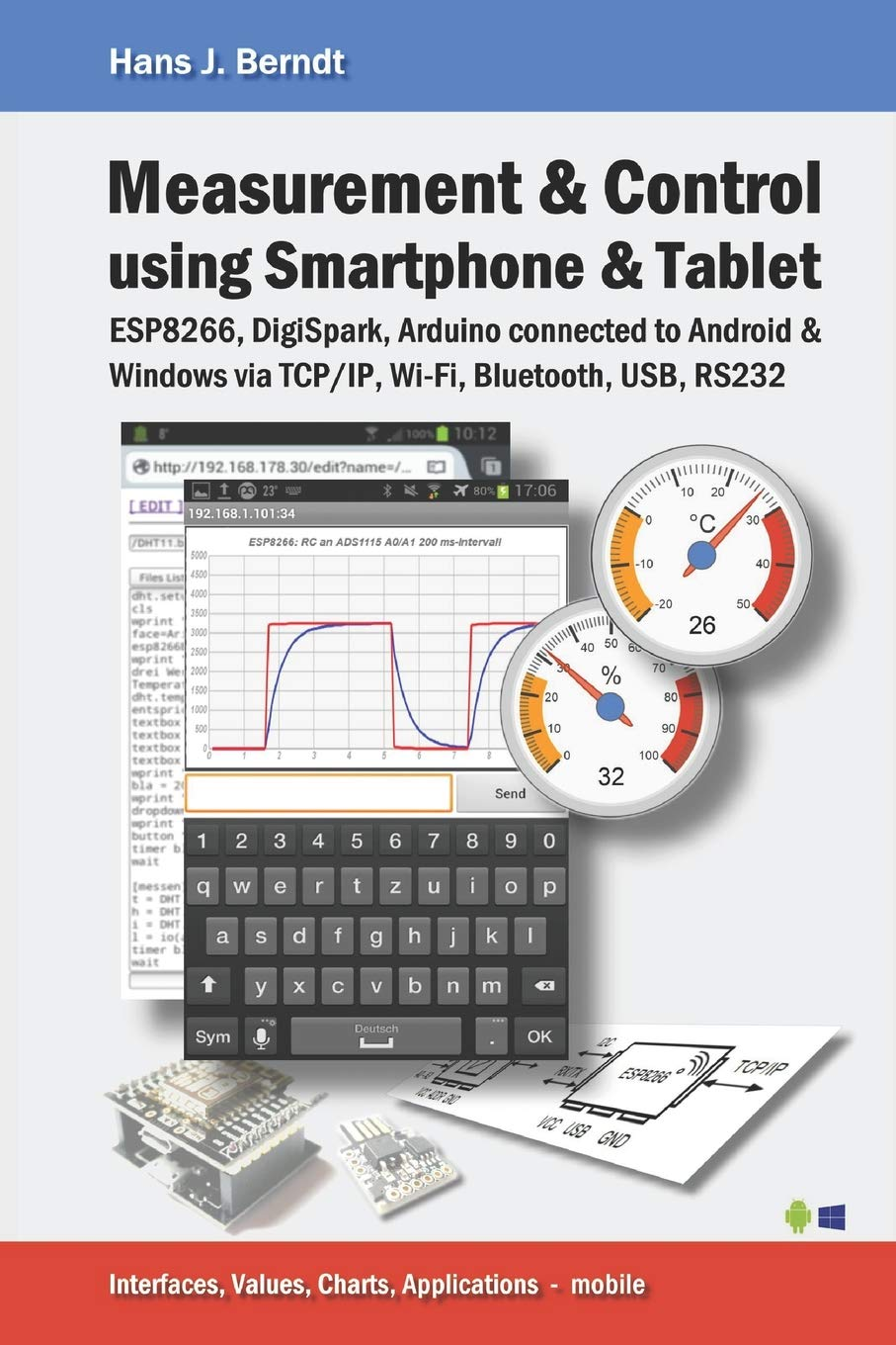 Measurement & Control using Smartphone & Tablet: Amazon.es: Berndt, Hans J.: Libros en idiomas extranjeros
