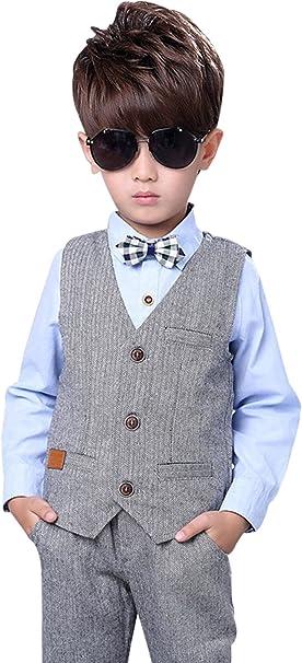 LUOBOBEIBEI Costume d'honneur Enfant garç