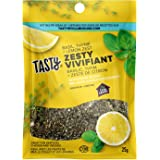 Tasty by Club House, Quality Natural Herbs & Spices, Seasoning Blend, Zesty, 25g