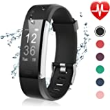 Amazon.com : Fitness Tracker, Heart Rate Monitor【2019 ...