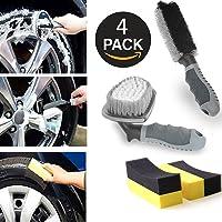 SuSi Cepillo de limpieza para rueda de coche