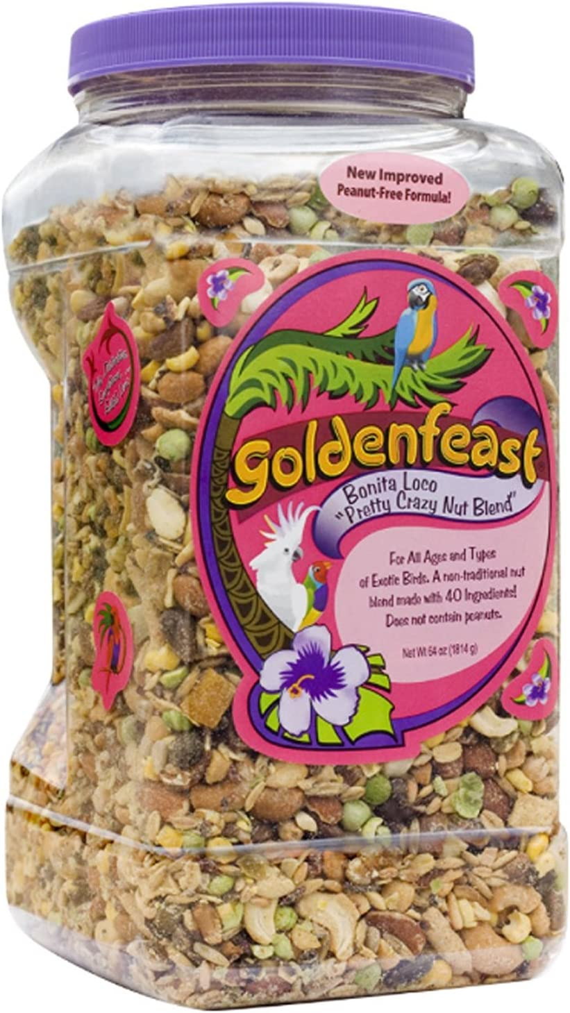 Goldenfeast Bonita Loco Bird Food, 64 oz.
