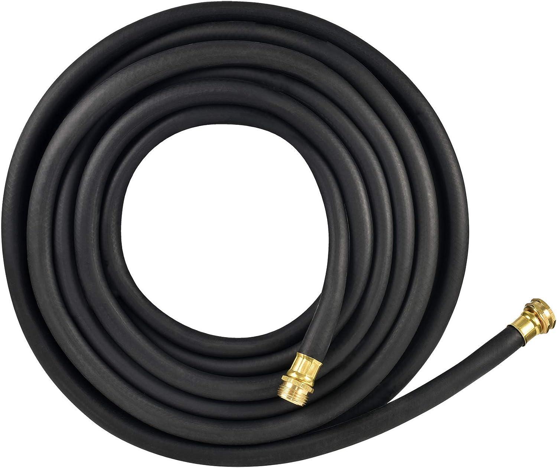 Flexon PH5850 Garden Hose, 50ft, Black