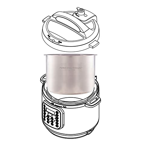 Amazon Com Inner Cooking Pot For Instant Pot Stainless Steel 8