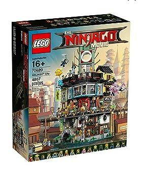 Lego Ninjago City 70620 - The Ninjago Movie 4867 pieces ...