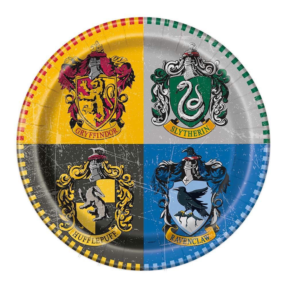Set de Fiesta y decoración vajilla Feliz cumpleaños Harry Potter